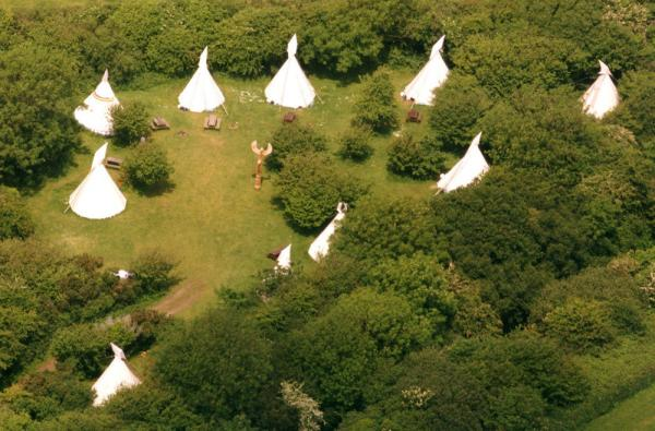 tipis for groups or wedding parties