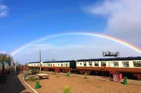 rainbow over Brunel HP