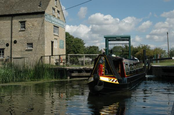 Oundle Mill on the River Nene
