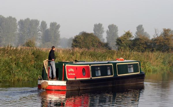 On the River Nene