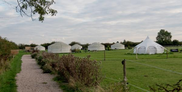 All the yurts