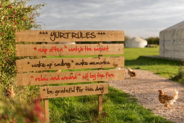 Yurt Rules