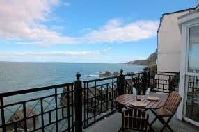Close to Shore balcony sea view