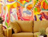 bright art at Hotel Mayet