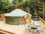 Rowan Yurt exterior