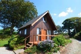 Bodmin Cabin Exterior