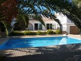 Charity Villa with pool and gated patio