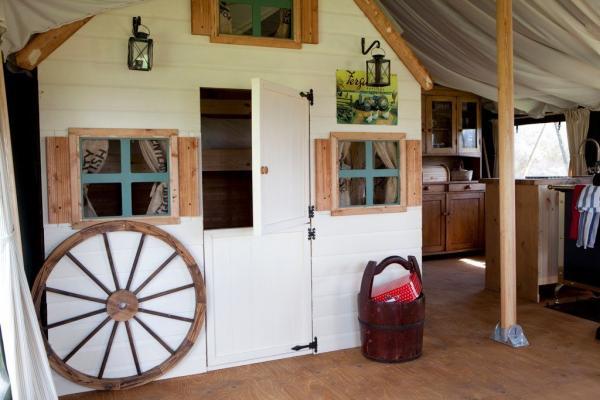 The bunk barn