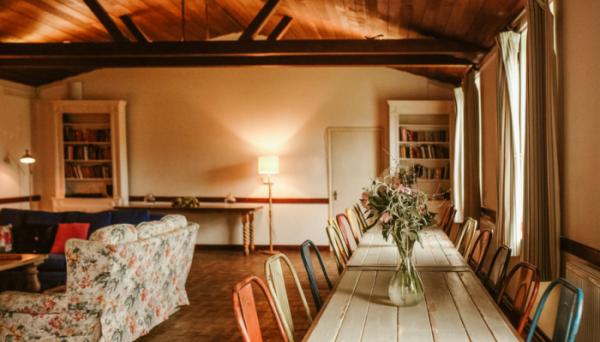 village hall-open plan dining