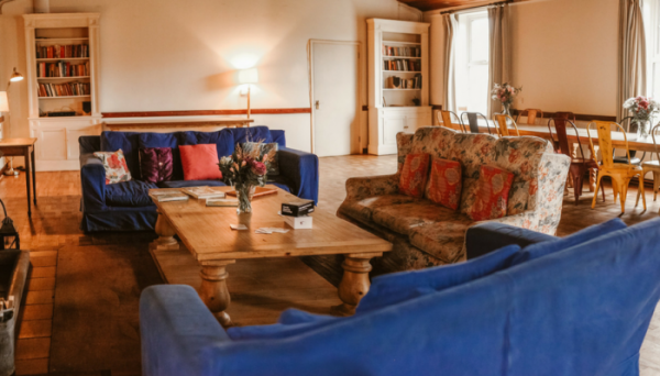 village hall - open plan living room