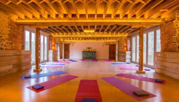 perhaps a yoga retreat
