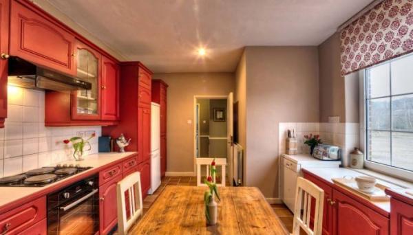 kitchen in the Village Hall