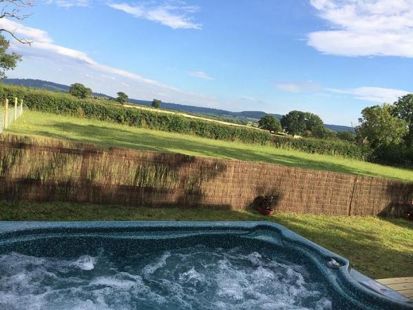 hot tubs and country views