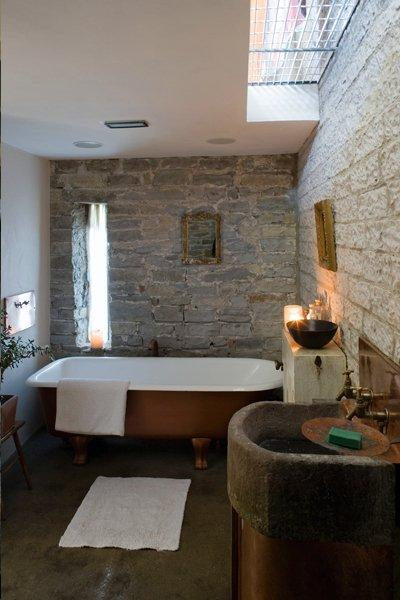 bathroom with special features