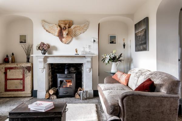 living room at GAH