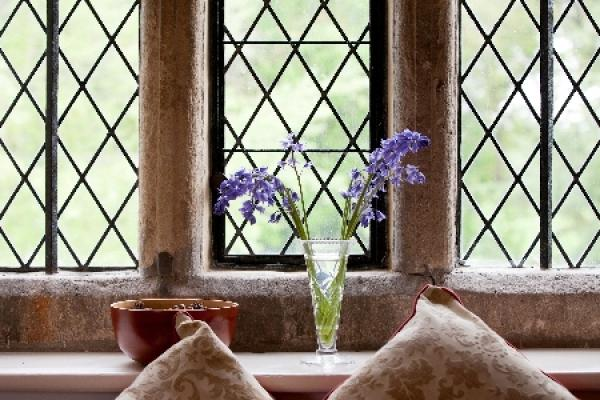 Historic leaded window