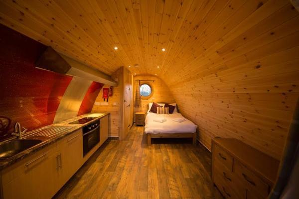 Interior of pod