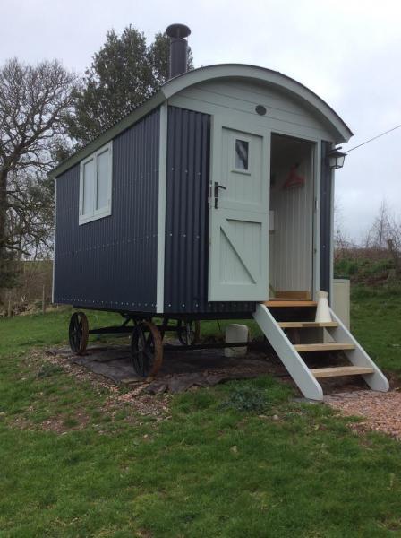 the shepherds hut near Taunton