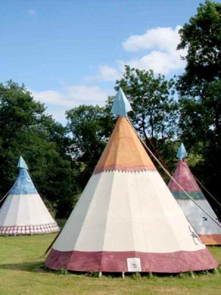 tipi campground