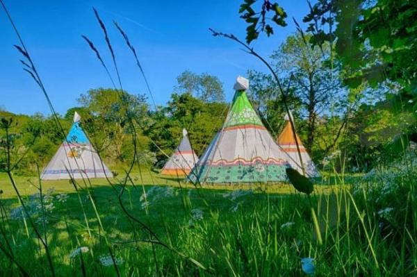 tipi stay in the Lake District