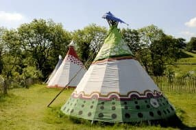 Tipis at 4 Winds