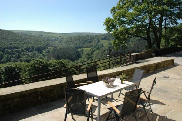 Stunning views from the huge patio