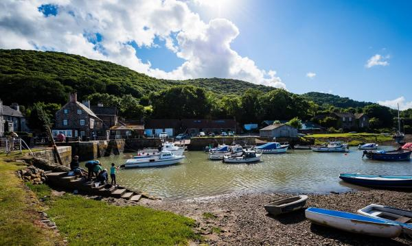 The Beautiful Porlock Weir