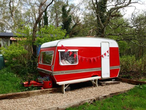 Vintage 70s caravan