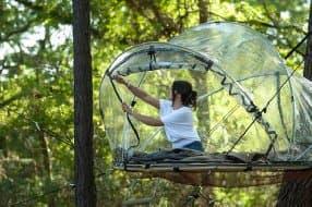 Bubble tent