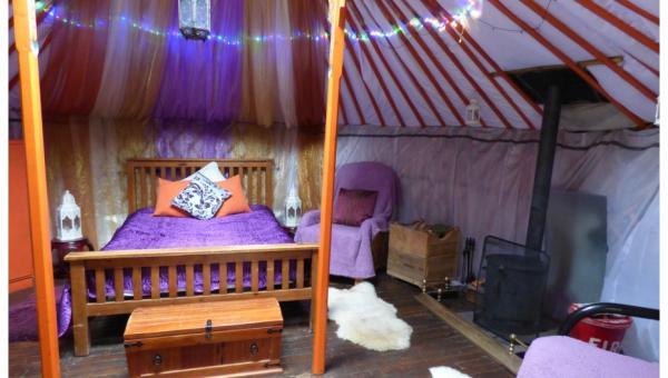 Cloudhouse yurt