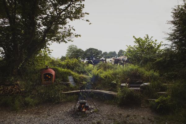 Exteriors of the Yurt