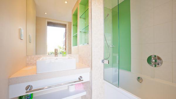 communal luxury bathroom