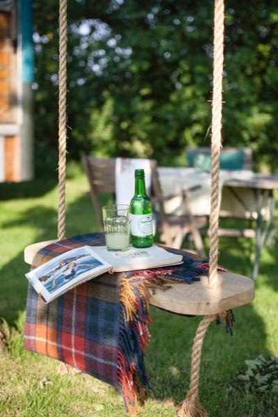 relaxed glamping holiday for 2