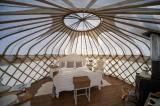 4 luxury yurts
