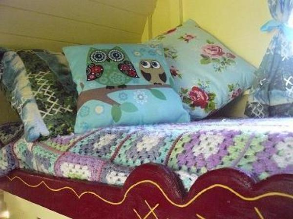 bed at Gypsy Rose