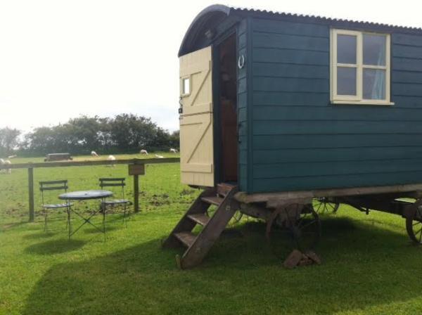 hut accommodation at Bircham Windmill