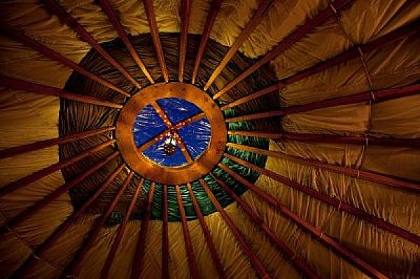 waterproof canvas used in yurts