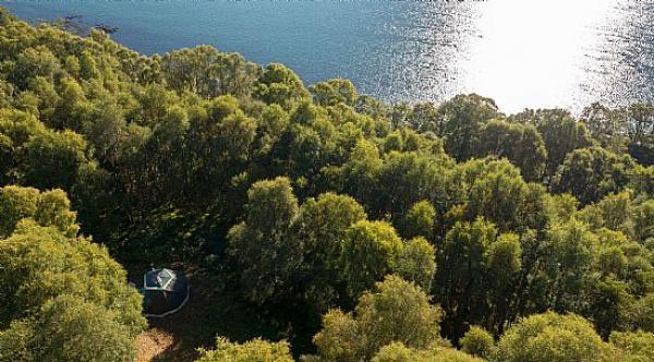Hazel Geodome location