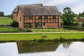 converted barn dating from 1620