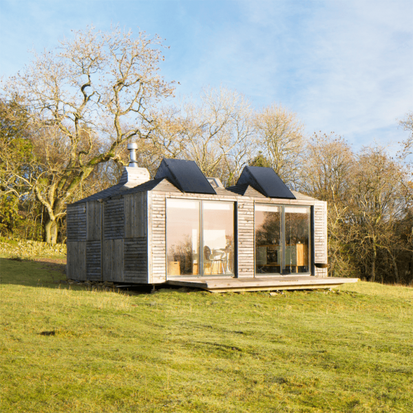 Eco cabin at Brockloch