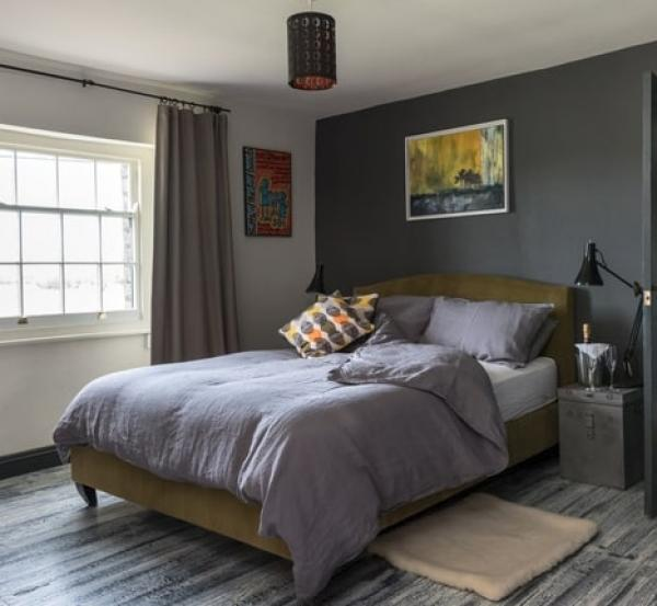 Beautifully styled bedroom