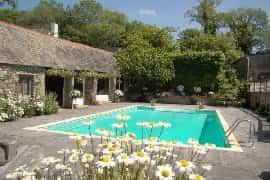 enjoy the heated outdoor pool