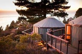 Treebones Resort yurt