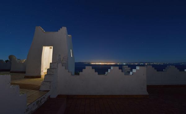 views of Morocco at night