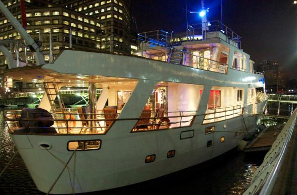 the amazing Absolute Pleasure Yacht
