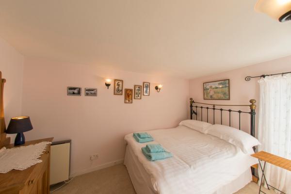 double bedroom on the top storey