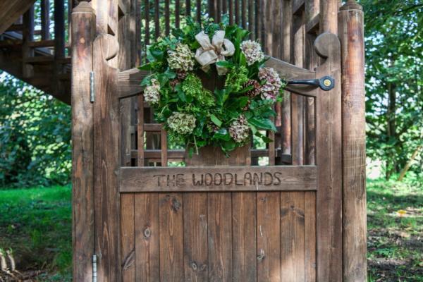 beautiful wood entry door