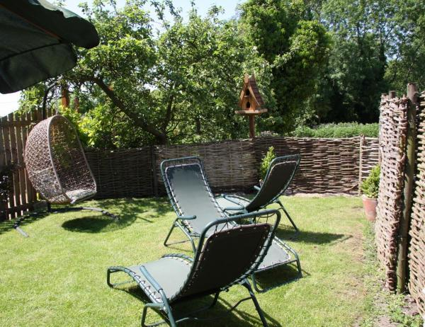 Hayloft garden