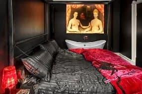saucy bedroom