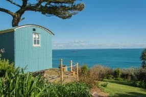 Hut by the sea